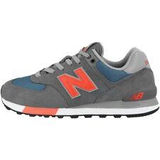 New Balance ML 574 NFO Schuhe Retro Sneaker lead dark blue coral glow ML574NFO