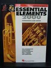 ESSENTIAL ELEMENTS 2000 Music Band Book BARITONE HORN TC (Treble Clef)  BOOK 2