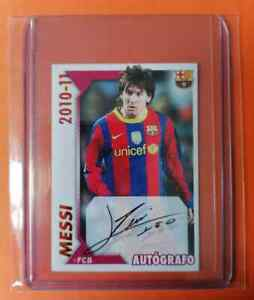 Lionel MESSI FC Barcelona 2010-11 PANINI #119