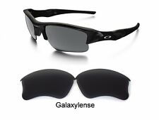 Galaxy Replacement Lenses For Oakley Flak Jacket XLJ Sunglasses Black Polarized