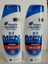 2 Head & Shoulders Men's 12.8 Oz 2 in 1 Shampoo Conditioner Old Spice Swagger