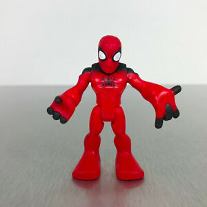 Playskool Marvel Super Hero Adventures SCARLET SPIDER red & black Spider-Man
