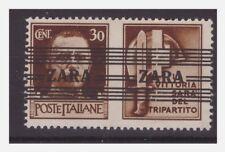ZARA  1943  PROPAGANDA  -  CENTESIMI 30  -     NUOVO **