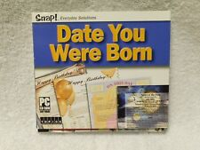 The Date You Were Born: Snap! Everyday Solutions (2001, CD-Rom) PC Software