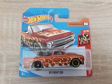 Hot Wheels Hotwheels '67 Chevy C10 - 1:64 1/64 HW Flames 9/10