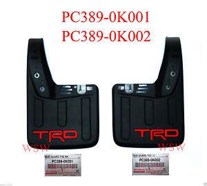 Genuine USE FOR Toyota Hilux TRD Rear Mud Flaps Splash Guards REVO 2016 2017