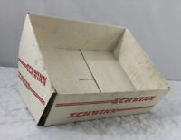 Vtg Schwinn Bicycle Display Box BMX Catalog Price Sheet Holder Empty 1980's