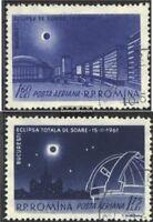Rumänien 1991-1992 (kompl.Ausg.) gestempelt 1961 Sonnenfinsternis