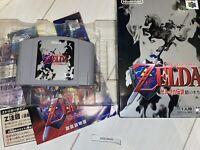 Nintendo 64 The Legend of Zelda Ocarina of Time N64 Action RPG JP Japan NTSC-J