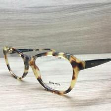 98819a74c895 Miu Miu VMU 01N Eyeglasses Tortoise Black 7S0-1O1 Authentic 52mm
