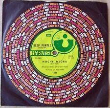 "DEEP PURPLE Black Night / Speed King SOUTHAMERICA 7"" 1971 Spanish Titles"