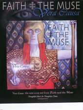 Faith And The Muse 2001 Vera Cause Original Promo Poster