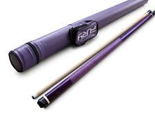 Gator Purple Billiards Maple Pool Cue(19-21 oz), Purple Hare case,Cuetec Glove!