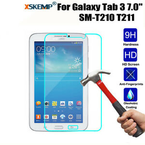 Premium Tempered Glass Screen Protector For Samsung Galaxy Tab 3 7.0 T210 T211