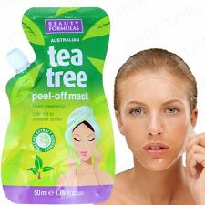 AUSTRALIAN TEA TREE PEEL OFF FACIAL MASK Face Care Deep Blackhead/Pore Cleaner