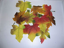 Deko Herbstblätter Blätter Herbstlaub Ahorn Herbst Basteln Floristik wie echt