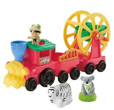Fisher-Price Animal Sound Zoo Train Little People New