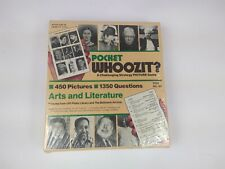 Pocket Whoozit? A Challenging Strategy Picture Game Is Arts & Literature
