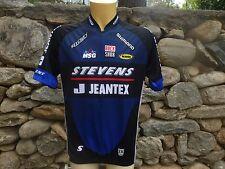 Maillot cycliste STEVENS JEANTEX SHIMANO ROCK SHOX cycling shirt jersey XXL