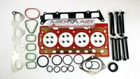 HEAD GASKET SET+HEAD BOLTS FOR VW GOLF JETTA TOURAN 1.4 TSI 16v ENGINE BMY BLG