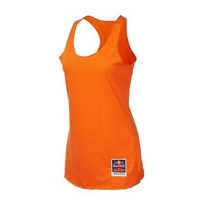 NEW SIZE LARGE Red Bull KTM Racing Women's Patch Tank ORANGE