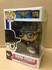 FUNKO POP! Wonder Woman DIANA PRINCE WITH SHIELD #176 Exclusive Vinyl Figure NEW