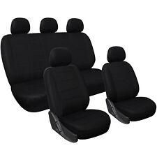 Housse de siège universelle couvre siège de voiture en polyester Noir FAS7313