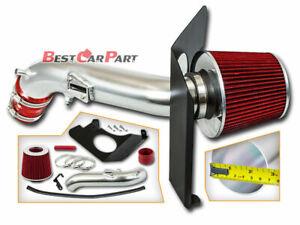 BCP RED 2013-2017 Honda Accord 2.4L COLD SHIELD AIR INTAKE KIT +FILTER