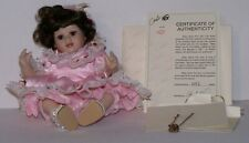Baby Marie Tiny Tot Marie Osmond Porcelain Doll with Necklace & Certificate