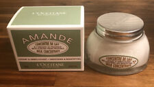 L'Occitane Amande Smoothing & Beautifying Almond Body Milk Concentrate Cream 7oz
