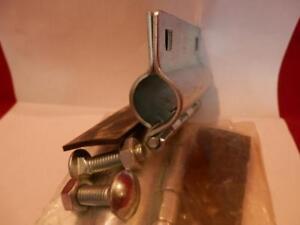 "Pasco 1/2"" pipe leak repair emergency clamp H-D metal hinged w/bolts NOS Taiwan"