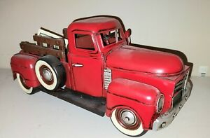 Cheung's JA-0048 1950's Red Truck Multicolored New