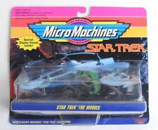 ESL3262 MicroMachines Star Trek The Movies Excelsior Bird of Prey Reliant (1993)