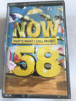 Now That's What I Call Music Vol 58 / 2004 Double Cassette Tape / Tested