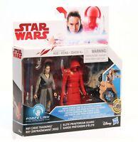 Star Wars: Force Link - Rey(Jedi Training) & Elite Praetorian Guard 2 Pack NEW