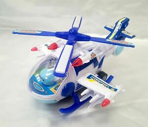 30CM Children Kids Air Patrol Helicopter Toy Play Colour Lights Music & Movement