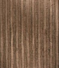 22m MAYA ROMANOFF REED Textured Natural Eco Wallcovering Wallpaper Coffee Bean