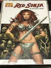Red Sonja She-Devil With A Sword 0 DF Red Foil Variant
