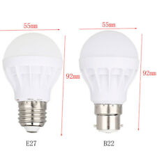 AU 240V  E27 B22 Bayonet Energy Saving Bulbs 3/5/7/9/12/15W LED Globe Light Lamp