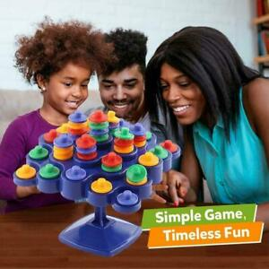Topple Board Game Balancing Toys For Children Family New Activity Gifts M3Z1