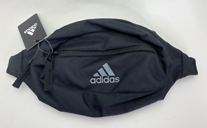 Adidas Rand II Waist Pack Black/Grey Adjustable Fanny Pack Strap Travel 5139470