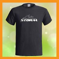 Triumph Thunderbird Storm Logo British Men's Black T-Shirt S M L XL 2XL 3XL