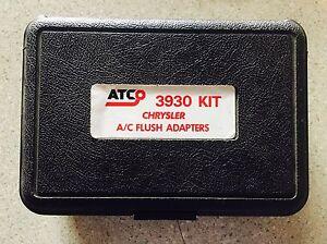 ATCO 3930 Flush Adapter Kit Chrysler Vehicles Brand NEW Free Shipping