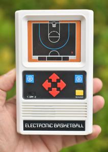 Mattel Electronic Basketball Video Game Hand Held Retro 1980's vintage Mattel's
