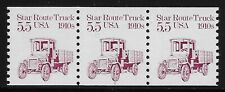 Us Scott #2125, Plate #1 Coil 1986 Star Route Truck Vf Mnh