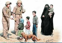 HELP YOURSELF, PLEASE US SOLDIERS WITH IRAQ CHILDREN 1/35 MASTER BOX 35159 DE
