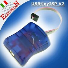 USBtinyISP AVR Programmer ISP- Programmatore Arduino e Chips Atmel / ATmega328P