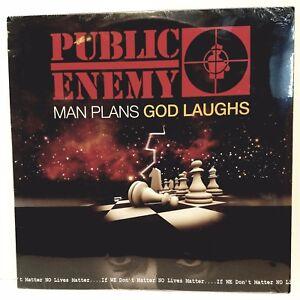 "PUBLIC ENEMY ""Man Plans God Laughs"" [LP] (Vinyl, Jul-2015, Cobraside)"