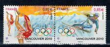 2010 P4436 / 4437 JEUX OLYMPIQUE HIVER VANCOUVER OBLITERE  CACHET ROND