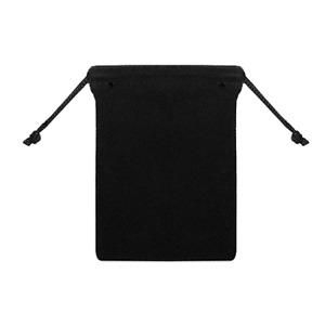 25pcs Black 5x7 Jewelry Pouches Velvet Gift Bags